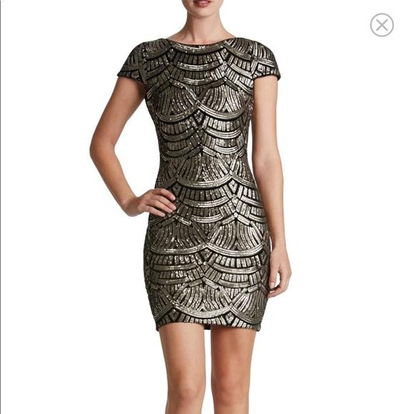 Dress the Population Dresses & Skirts - Tabitha Sequin Body-Con Dress